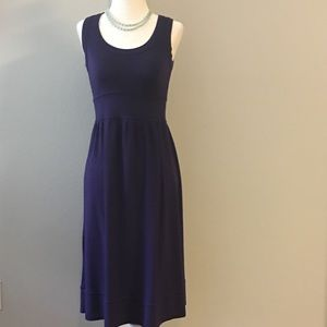 [Velvet] midi stretch tank dress